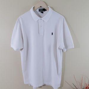 Polo by Ralph Lauren Men's White Short Sleeve